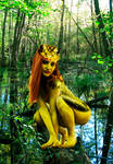 Frog Woman of the Swamp