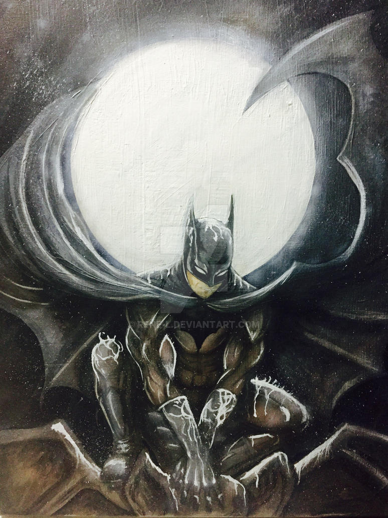 #Batman by Rene-L