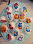 Shopkins Easter eggs by Rene-L