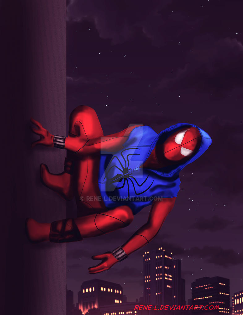 Scarlet Spider Ben Reilly by Rene-L