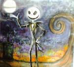 Sugar Jack Dia de Los Muertos removable mural