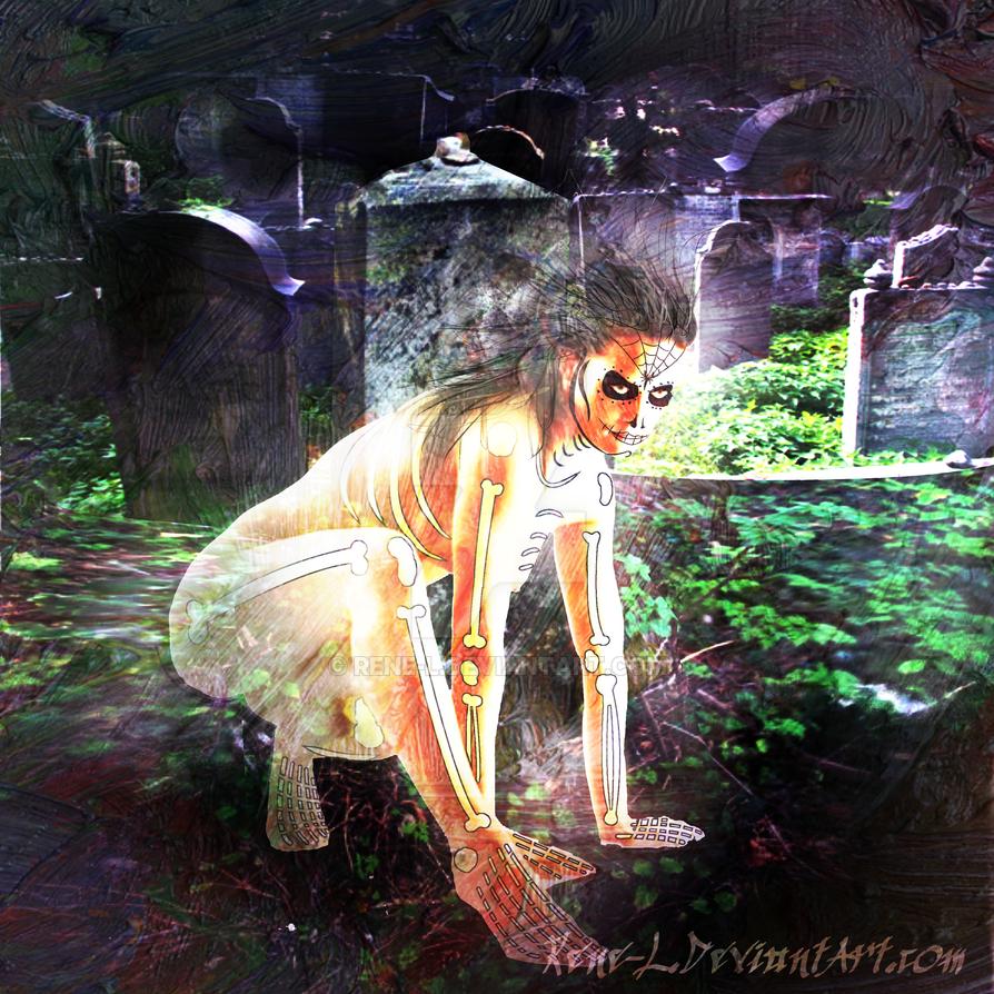 La Calaverita Desnuda by Rene-L