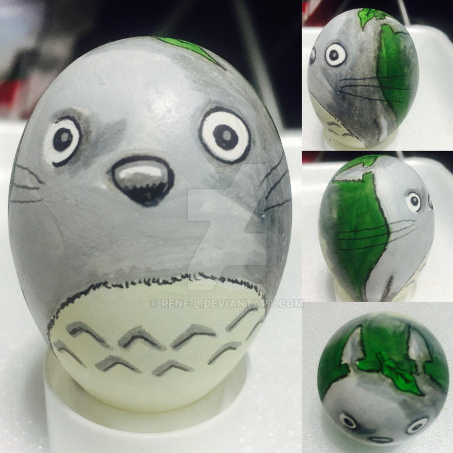 Totoro 2017 Easter egg by Rene-L