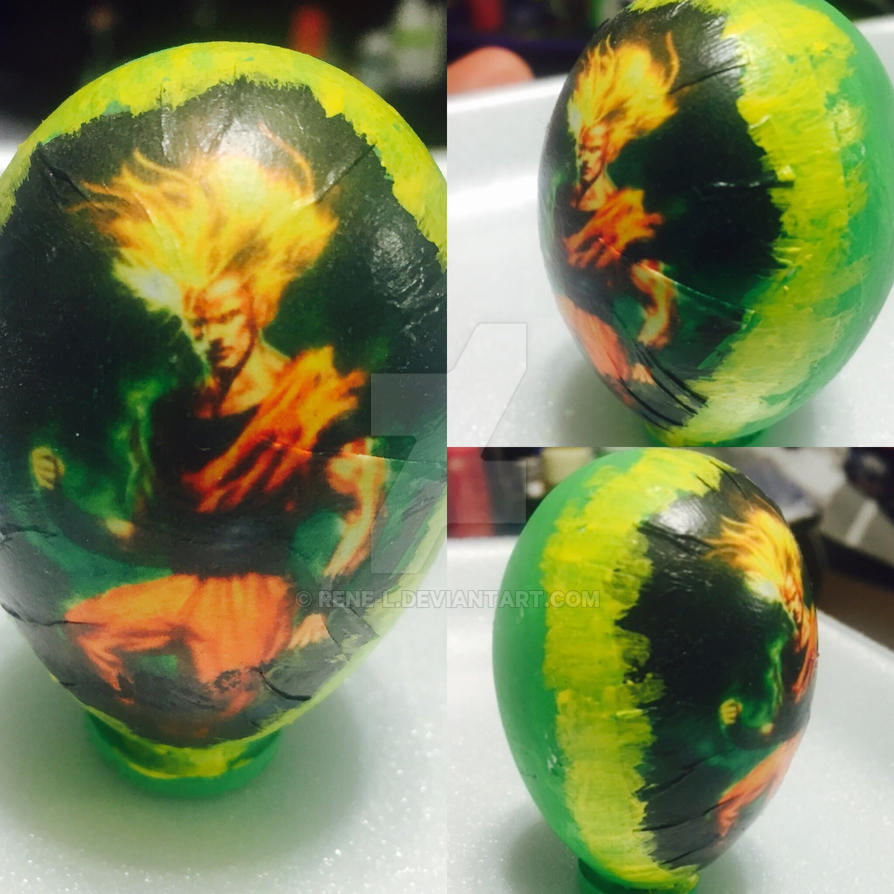 Goku Easter egg by Rene-L
