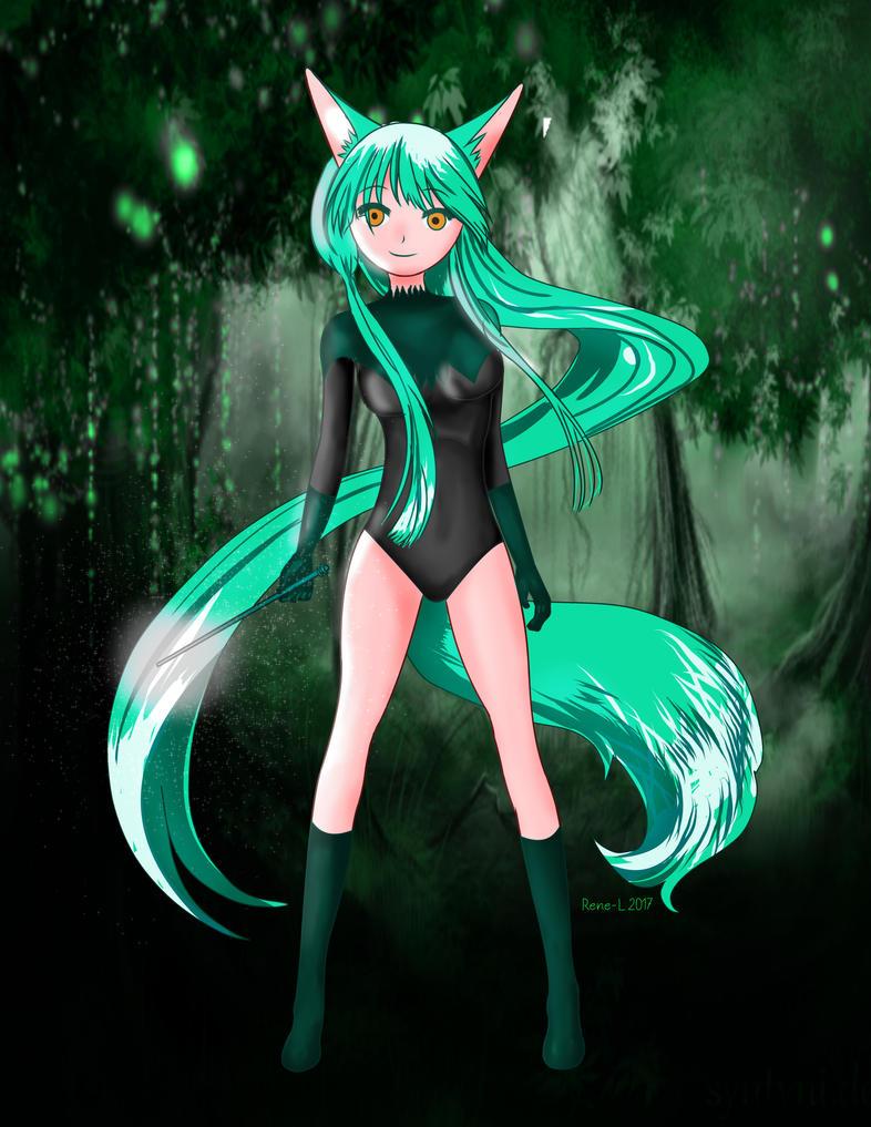 Foxy Anime by Rene-L
