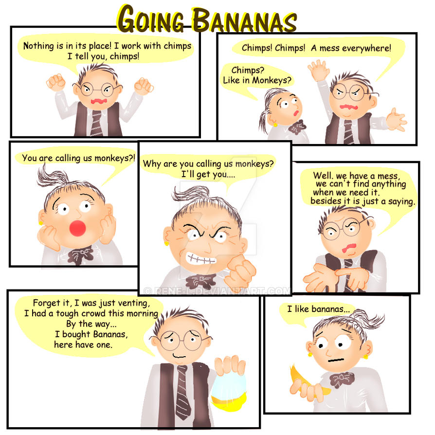 Going Bananas by Rene-L
