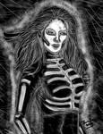 Inktober 2017: Sexy Skeleton