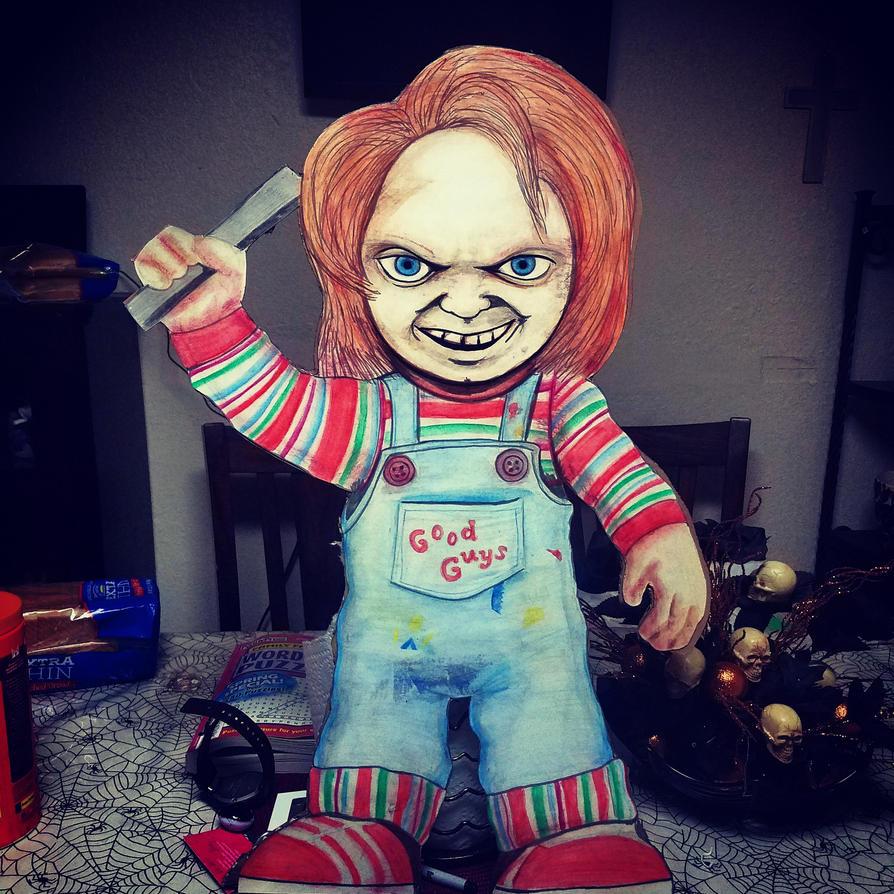 Chucky Cutout by Rene-L