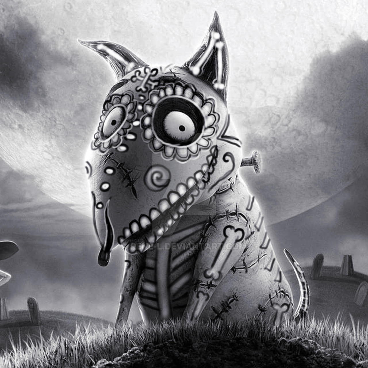 Frankenweenie Day of the dead