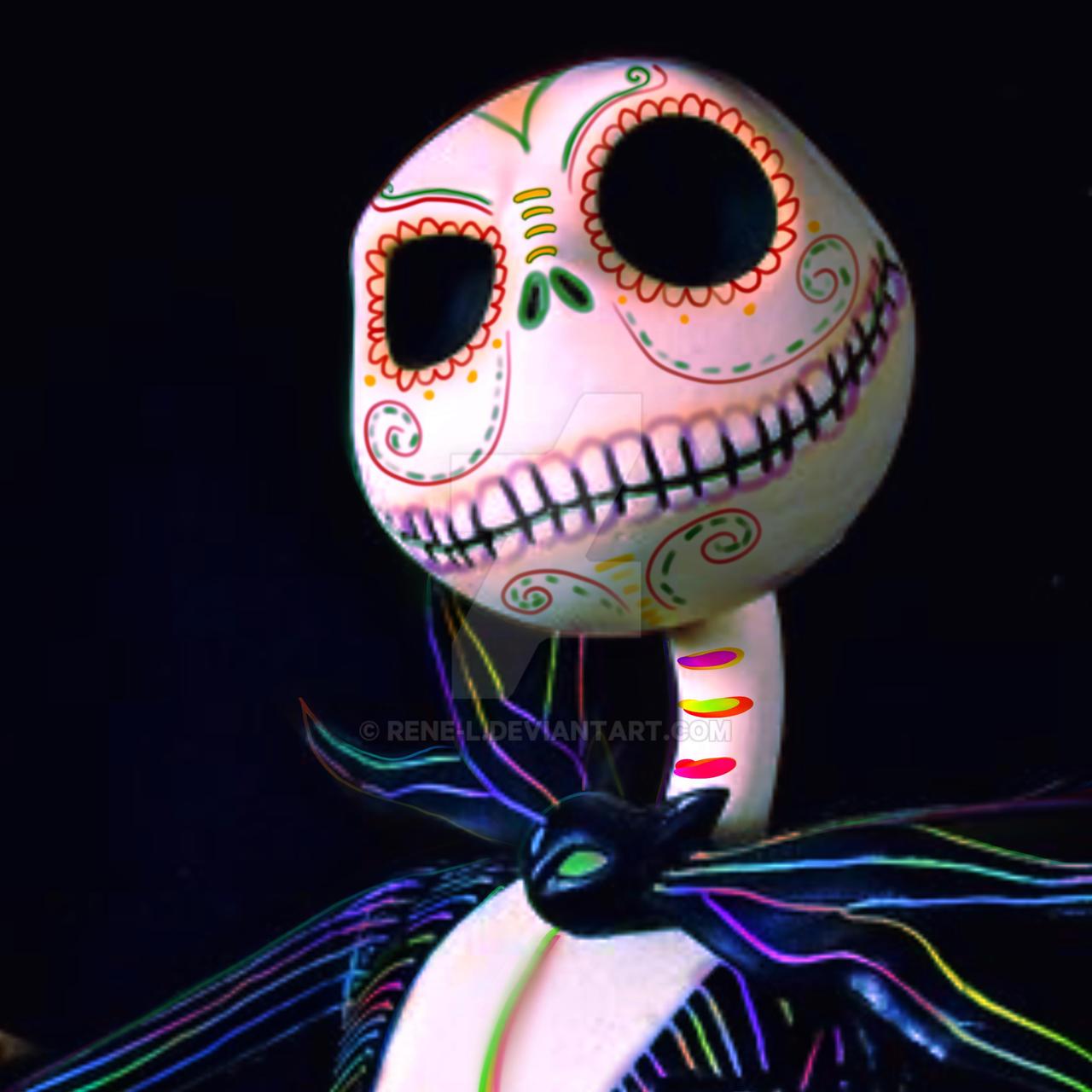 Jack Skellington Dia De Los Muertos