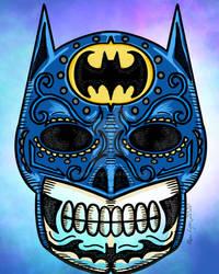 Batman Dia De Los Muertos
