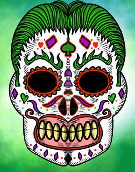 Joker dia de Los Muertos