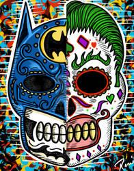 Did De Los Muertos Batman joker