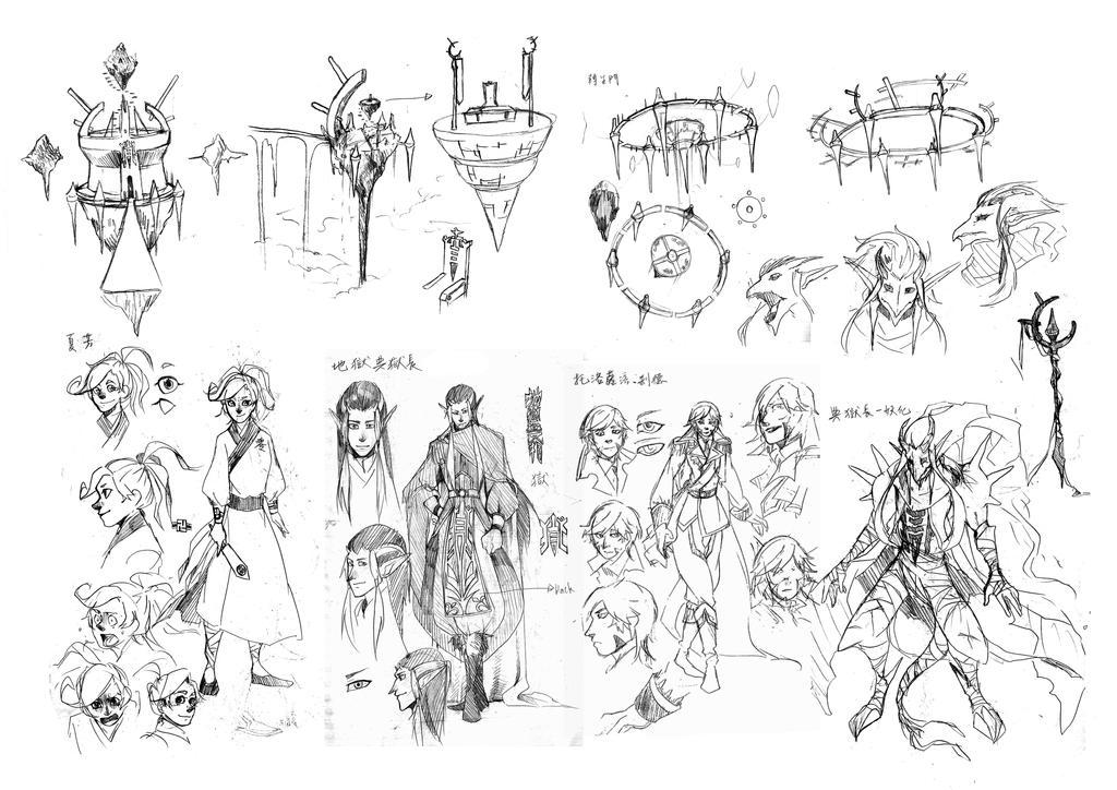 Original Character by YinXiang