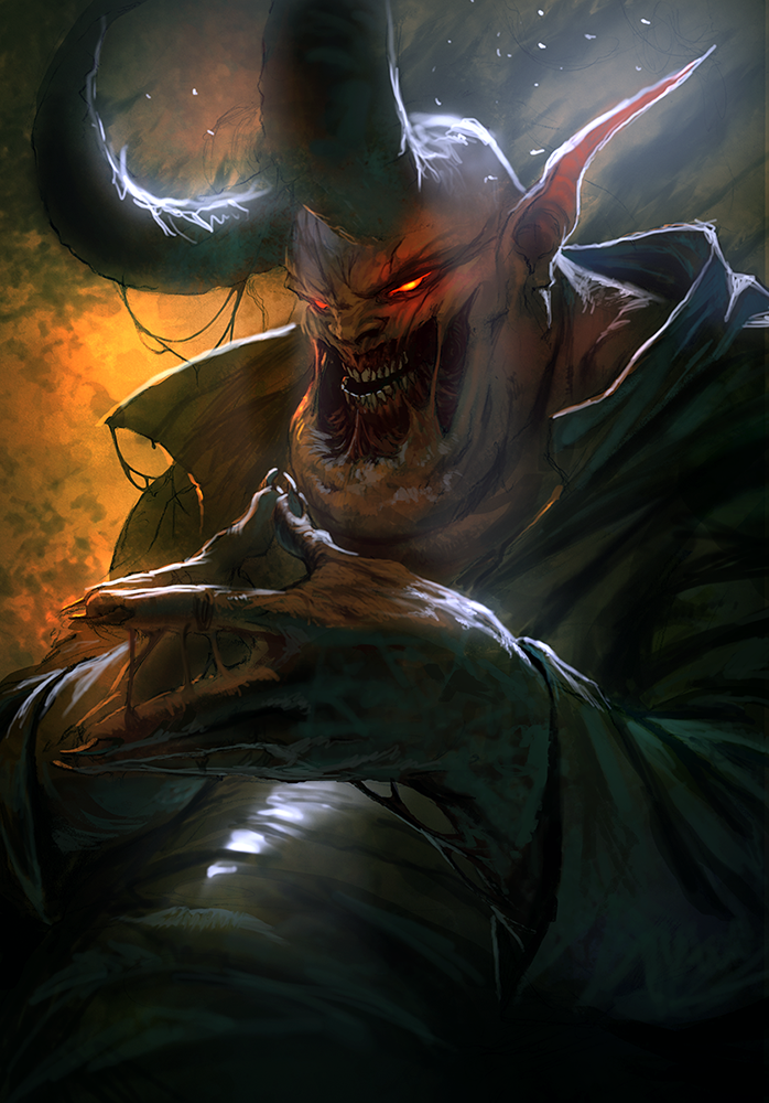 The Devils Hands Are Idle by NGArt