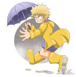 Wet Boy Bakugou