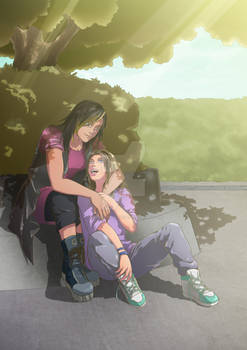 COMMISSION : Lani and Tillie