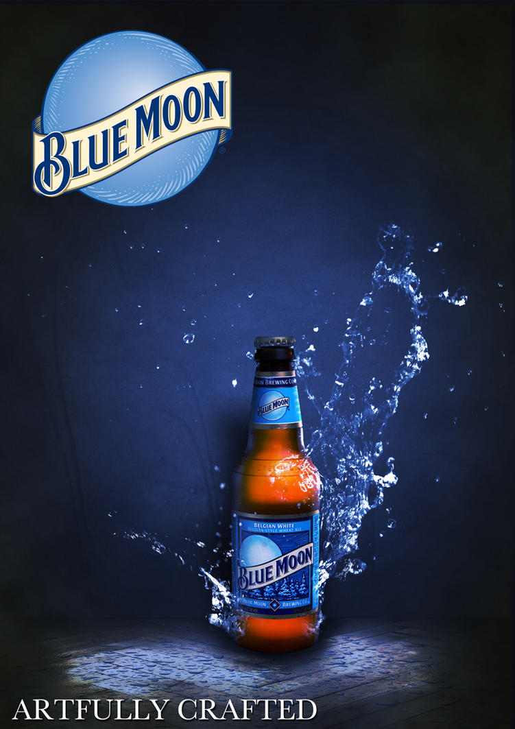 artfully crafted blue moon by gallenart on deviantart