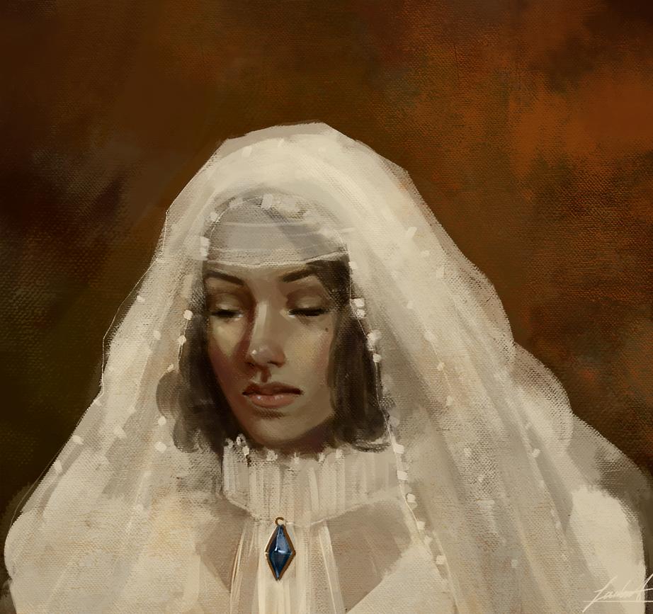Veiled Woman by EmilyToots