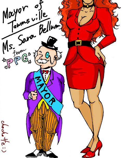 Mayor and Ms.Bellum by chochotte