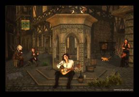 Sunset Serenade by Tasharene
