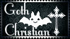 Goth Christian Stamp by Romantic-Dreamer