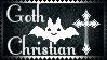 Goth Christian Stamp