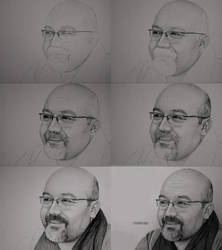 Charcoal Drawing Portrait5 by mehmetcaglar