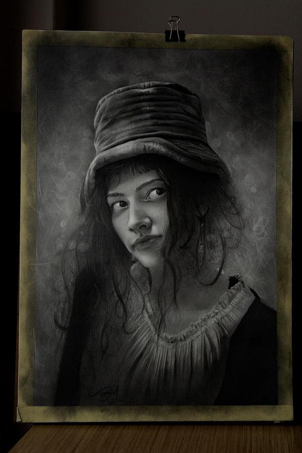 Charcoal Drawing Portrait'15 By Mehmetcaglar On DeviantArt