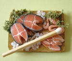 Salmon Preparation Board