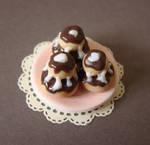 Miniature Food - Religieuses