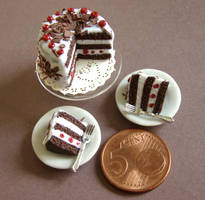 Black Forest Cake by PetitPlat
