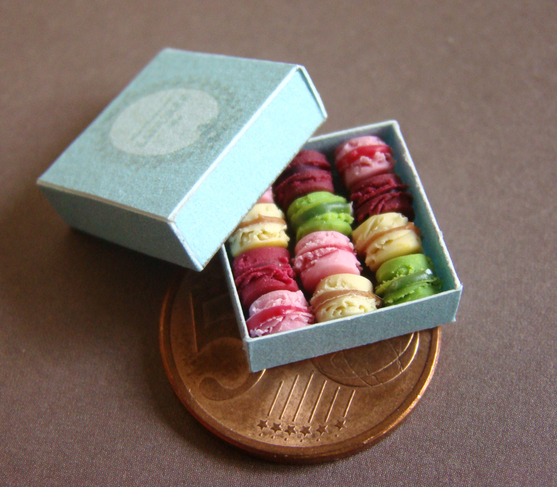 French Mini Macarons by PetitPlat