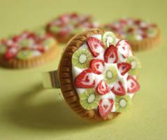Fruit Tart Ring by PetitPlat