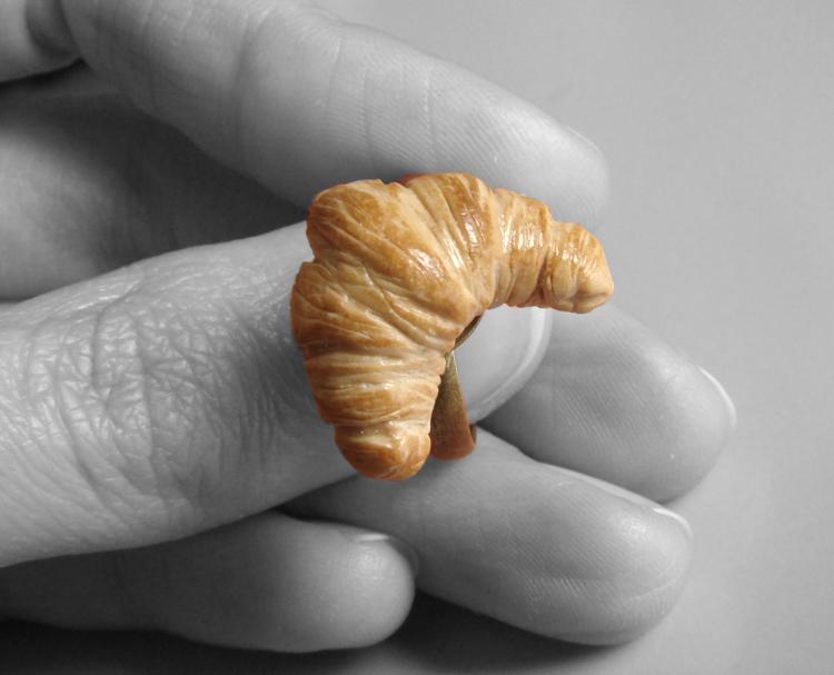 Croissant Ring by PetitPlat