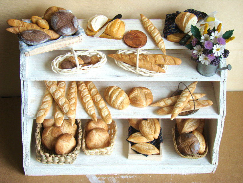 Bakery Display by PetitPlat