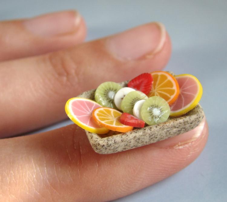 Little Cute Mini Fruit Salad