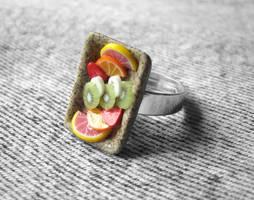 Fruity Gemstone Ring by PetitPlat