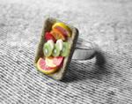 Fruity Gemstone Ring