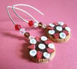 Chocolate Tart earrings
