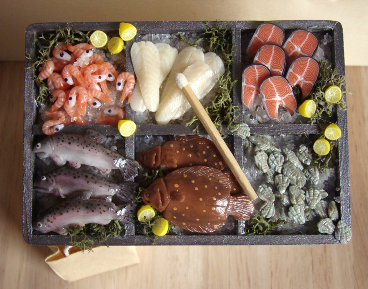 Fish Stall by PetitPlat