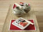 Miniature Sushi For 2 by PetitPlat
