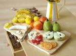 Close Up - Fruit Prep Board