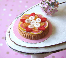 Acid Fruit Tart by PetitPlat