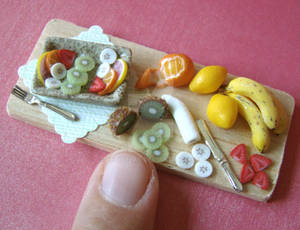 Fruit Salad Prep' Board