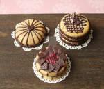 Various Tiny Cakes