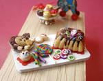 Rainbow Birthday Tray - 1 by PetitPlat