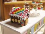 Rainbow Gingerbread House 1