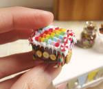 Rainbow Gingerbread House 2