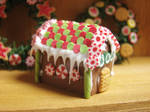 Traditionnal Gingerbread House